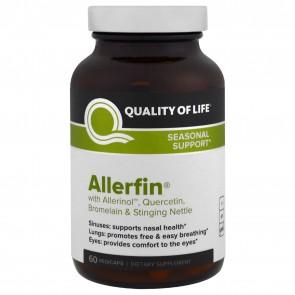 Quality of Life Allerfin 60 Vegicaps