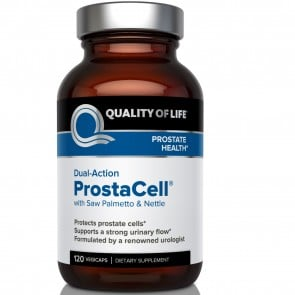 Quality Of Life Labs Dual Action Prostacell 120 Vegetarian Capsules