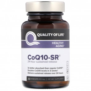 Quality of Life CoQ10-SR 30 Vegicaps