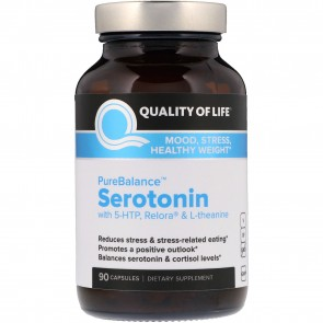 Quality of Life Serotonin 90 Capsules