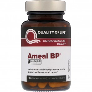 Quality of Life Ameal BP 30 VegiCaps