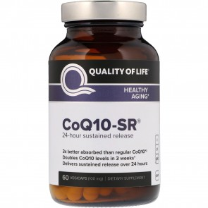 Quality of Life CoQ10 SR 60 Vegicaps