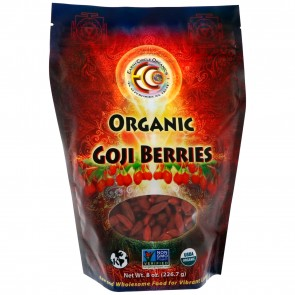 Earth Circle Organics Goji Berries, Raw, Oreganic 8 oz.