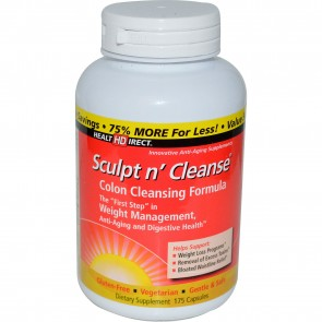 Health Direct Sculpt n' Cleanse Colon Cleansing Formula 175 Capsules