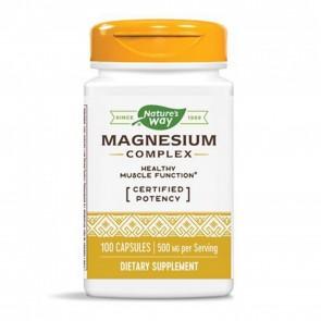 Magnesium Complex 500mg Nature's Way 100 Capsules