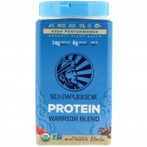 SunWarrior Warrior Blend Plant-Based Organic Protein Mocha 1.6 lbs