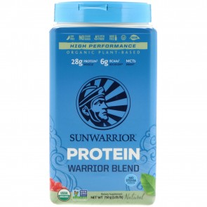 SunWarrior Warrior Blend Plant-Based Organic Protein Natural 1.6 lbs