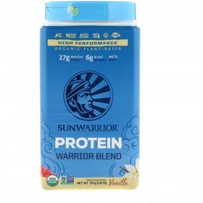 SunWarrior Warrior Blend Plant-Based Organic Protein Vanilla 1.6 lbs