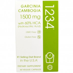 Creative Bioscience Garcinia Cambogia 1234 1500 mg 60 Veggie Caps