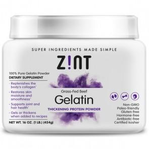 ZINT Beef Gelatin Powder Tub 1 lb
