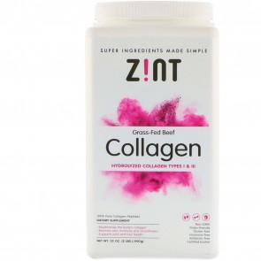 Z!NT, Grass-Fed Beef Collagen, Hydrolyzed Collagen Types I & III, 32 oz (907 g)