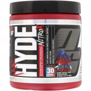 ProSupps Mr Hyde NitroX Blue Razz Popsicle 7.8 oz 30 Servings
