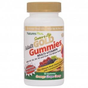 Natures Plus Source of Life Adult GOLD Multi-Vitamin Gummies