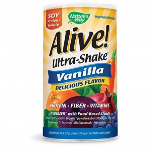 Nature's Way Alive Ultra-Shake Vanilla 1.3 lbs