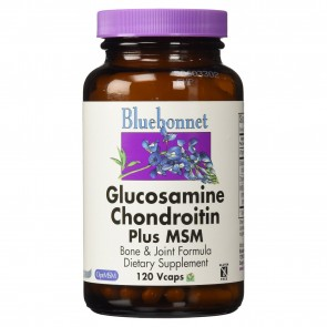 Bluebonnet Glucosamine Chondroitin 120 Capsules