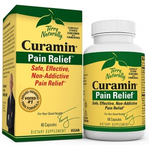 Terry Naturally Curamin Pain Relief 60 Capsules