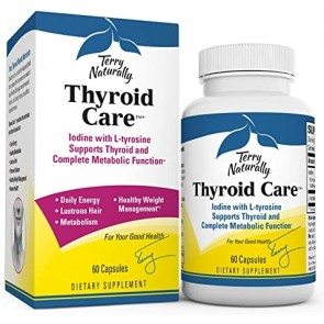 Terry Naturally Thyroid Care 60 Capsules