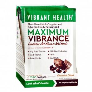 Vibrant Health Maximum Vibrance Chocolate Single Packet 23.5g