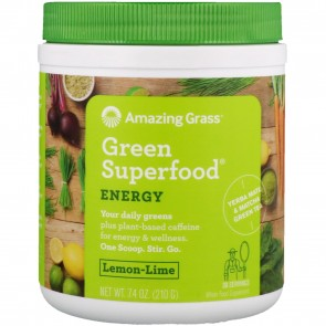 Amazing Grass Green Superfood Lemon Lime Drink 7.4 oz