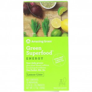 Green SuperFood Energy Lemon-Lime | Green SuperFood