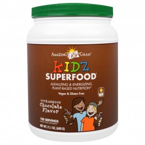 Amazing Grass Kidz SuperFood Powder Outrageous Chocolate 600 Grams