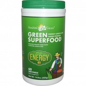Amazing Grass Green Superfood Energy Lemon Lime 420 Grams