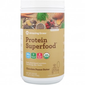 Amazing Grass Protein Superfood Chocolate Peanut Butter 1.1 lb