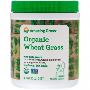 Amazing Grass Organic Wheat Grass Powder 240g