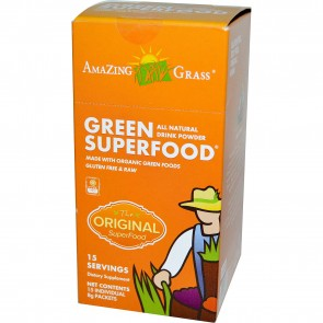 Amazing Grass Green SuperFood The Original 15 Individual Packets