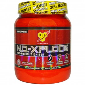 BSN N.O. Xplode Pre-Workout Igniter Fruit Punch 2.45 lbs
