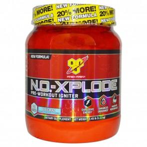 BSN N.O.-Xplode Blue Raz 2.48 lbs