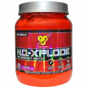 BSN N.O. Xplode Pre-Workout Igniter Grape 2.45 lbs