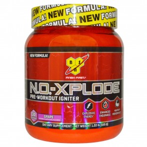 BSN N.O. Xplode Pre-Workout Igniter Grape 1.22 lbs