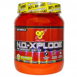 BSN N.O. Xplode Pre-Workout Igniter Green Apple 2.45 lbs