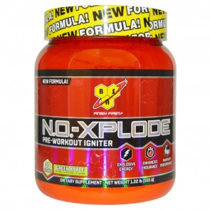 Bsn NO Xplode, Green Apple - 1.22 lb tub