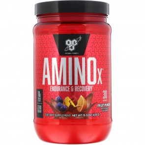 BNS Amino X Fruit Punch 15.3 oz