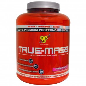 BSN True-Mass Strawberry Milkshake 5.75 lbs