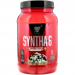 BSN Syntha-6 Cold Stone Creamery Mint Mint Chocolate Chocolate Chip 2.59 lbs