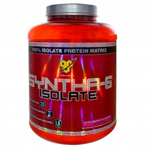 BSN Syntha-6 Isolate Strawberry 4.01 lbs