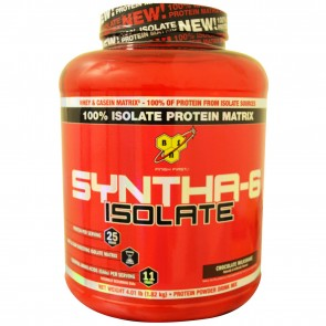 BSN Syntha-6 Isolate Chocolate 4.01 lbs