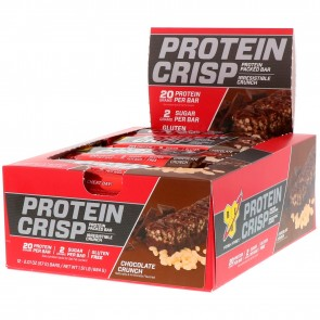 BSN Syntha-6 Protein Crisp Bar Chocolate Crunch 12 Bars