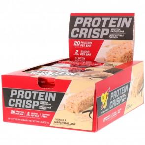 BSN Syntha-6 Protein Crisp Bar Vanilla Marshmallow 12 Bars