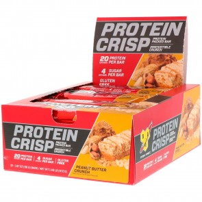 BSN Syntha-6 Protein Crisp Bar Peanut Butter Crunch 12 Bars