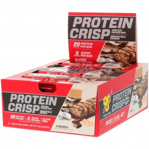 BSN Syntha-6 Protein Crisp S'Mores 12 Bars