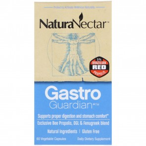 NaturaNectar Gastro Guardian 60 Vegetable Capsules