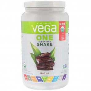 Vega One Plant Based All-In-One Shake Mocha 1.9 lbs 18 Servings