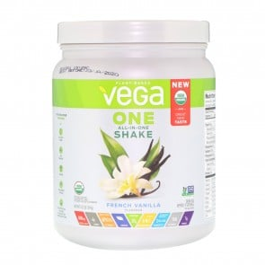 Vega One Plant Based All-In-One Shake French Vanilla 12.2 oz 9 Servings