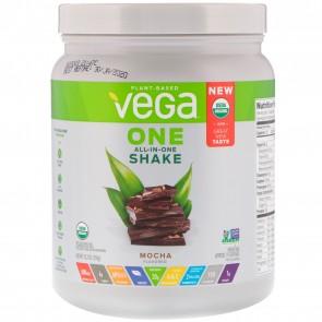 Vega One Plant Based All-In-One Shake Mocha 12.7 oz 9 Servings