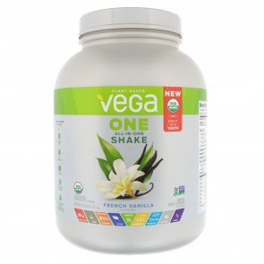 Vega One Plant Based All-In-One Shake French Vanilla 3.10 lbs 43 Servings