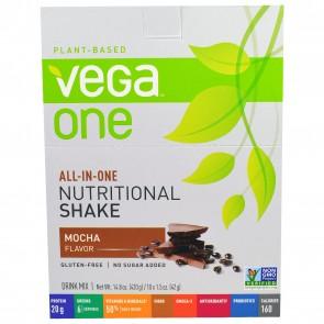 Vega One Nutritional Shake Mocha 10 x 1.5oz / 14.8oz